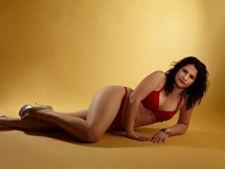 Sexy webcam show met domsublady