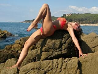 Sexy webcam show met dancebella