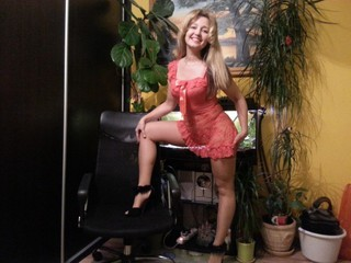 Sexy webcam show met luise