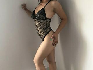 Sexy webcam show met hellend