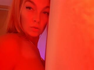 Sexy webcam show met cyberchickie