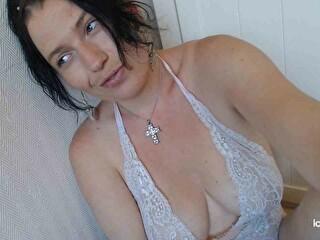 Sexy webcam show met mysterywoman