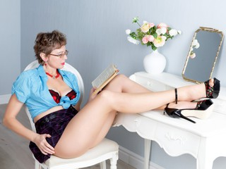 Sexy webcam show met hairynina