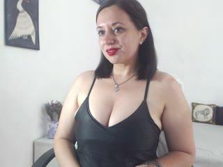 Sexy webcam show met belledomme